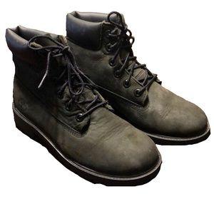 Timberland Black Boots Sz 5